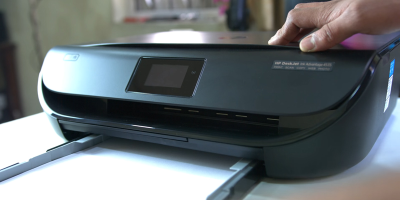 Detailed review of HP DeskJet 4535 All-in-One Wireless Color Ink Printer