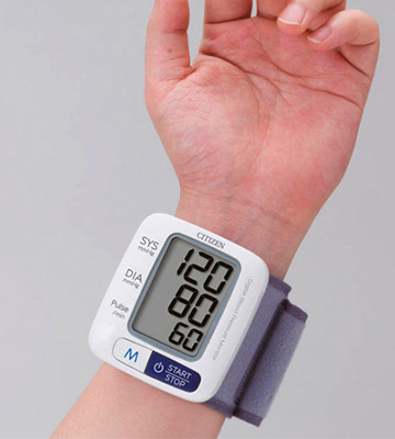 Review of Citizen CH 650 Wrist Full Automatic Blood Pressure Monitor