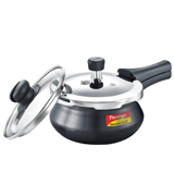 Prestige Deluxe Duo Plus Hard Anodised 3.3 L Pressure Cooker