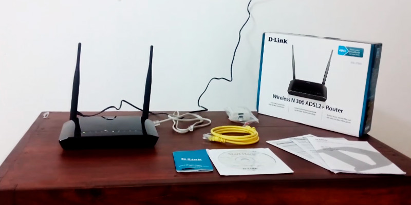D-Link DSL-2750U Wireless ADSL2 + Router application