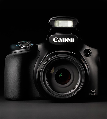 Review of Canon PowerShot SX60-HS Advanced Digital Camera