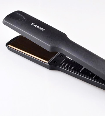 Review of Kemei KM-329 Professional Hair Straightener