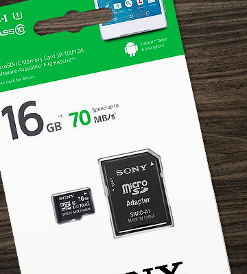 Review of Sony 16GB MicroSDHC