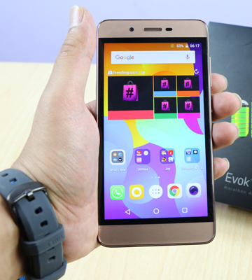 Review of Micromax Evok Power Mobile