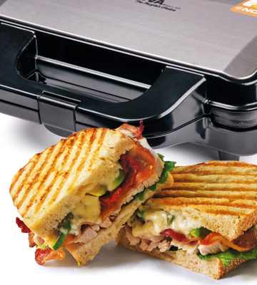 Review of Nova 2 In 1 Panni Grill and Sandwich Maker