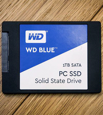 Review of WD WDS250G1B0A SSD Накопитель