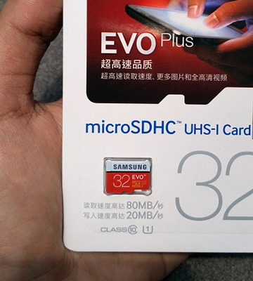 Review of Samsung Evo Plus 32GB MicroSDHC