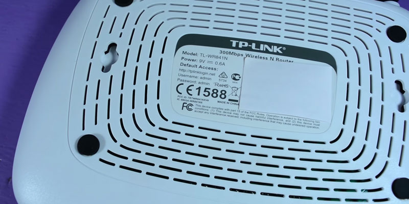 TP-LINK TL-WR841N Wireless Router application