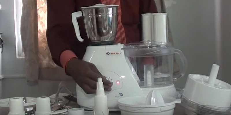 Review of Bajaj FX 11 Food Processor