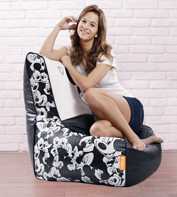 Review of ORKA Mickey Mouse Bean Bag Chair With Bean Filling
