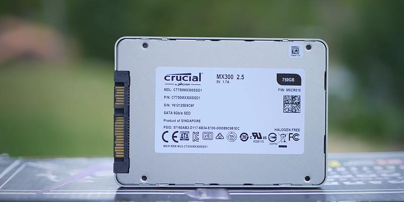 Detailed review of Crucial MX300 Solid State Drive