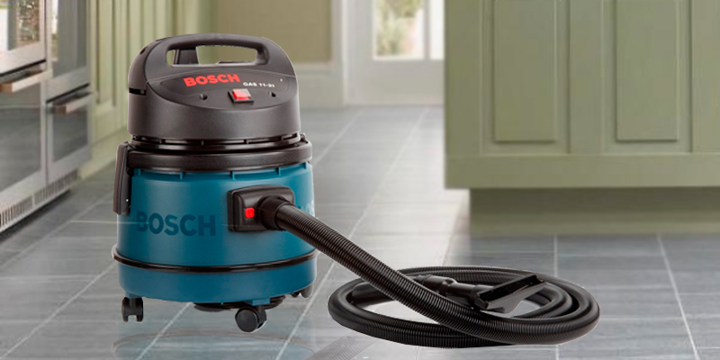 Review of Bosch GAS 11-21 Dry Vacuum Cleaner