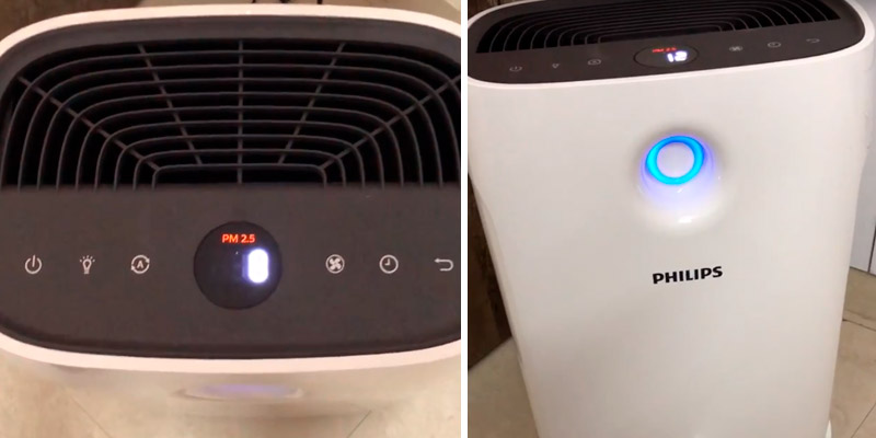 Philips AC2887/20 2000 Series Air Purifier in the use