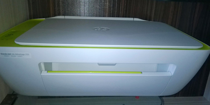 Review of HP DeskJet 2135 All-in-one Printer