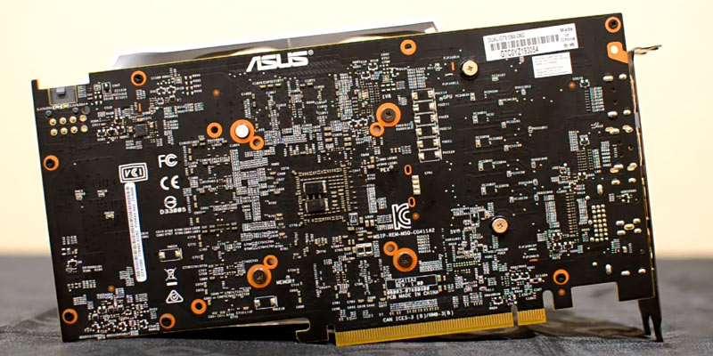 ASUS RX480 4GB Graphics Card in the use