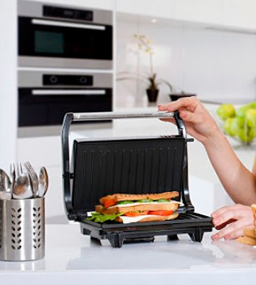 Review of Nova 2 Slice Panini Grill Sandwich Press Grill