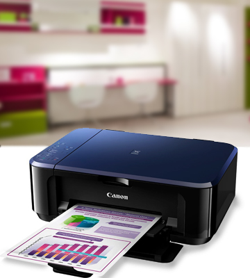 Review of Canon E560 All-in-one Printer