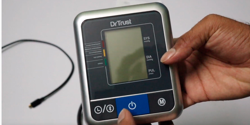 Review of Dr Trust Blood Pressure Testing Monitor A-One Max Connect Automatic Talking Blood Pressure Testing Monitor