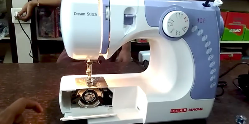 Review of Usha Janome Dream Stitch Electric Sewing Machine