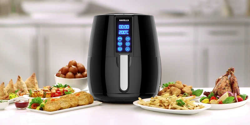 Havells Prolife Digi Air Fryer application