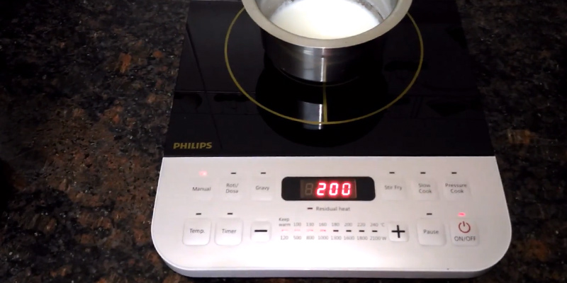 Review of Philips HD4928/01 Induction Cooktop