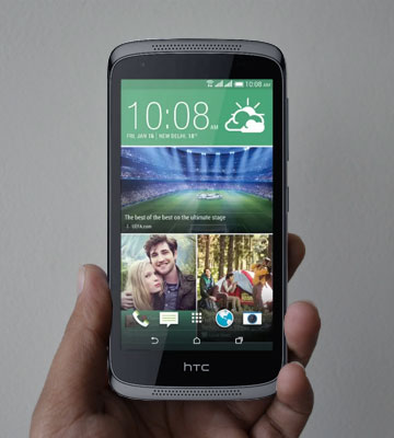 Review of HTC Desire 526G Plus Smartphone