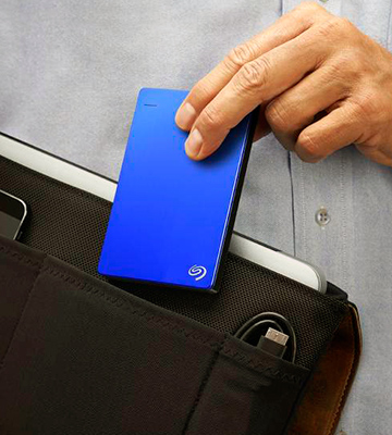 Review of Seagate Backup Plus Slim External Hard Disk