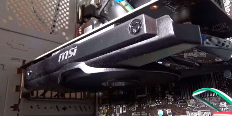 MSI GeForce 750Ti-2GD5/OC Graphics Card in the use