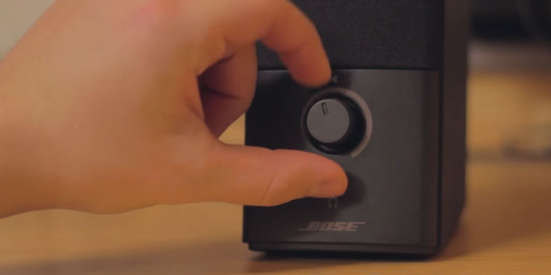 Bose Companion 2 Series III Multimedia Speakers application