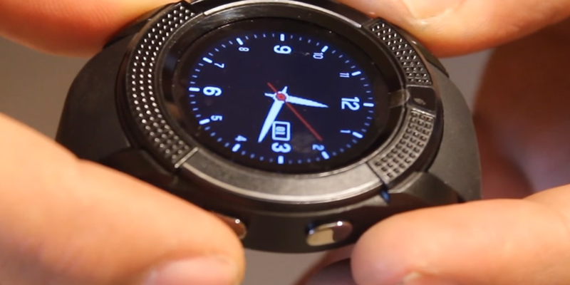 Review of Lenovo sm_V8BLK324 Smart watch with Camera and SIM Card Slot