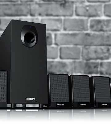 Review of Philips DSP 2800 Speaker System