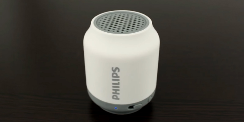 Review of Philips BT50W Portable Bluetooth Mobile Tablet Speaker