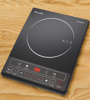 Review of Preethi Trendy Plus IC 116 Induction Cooktop