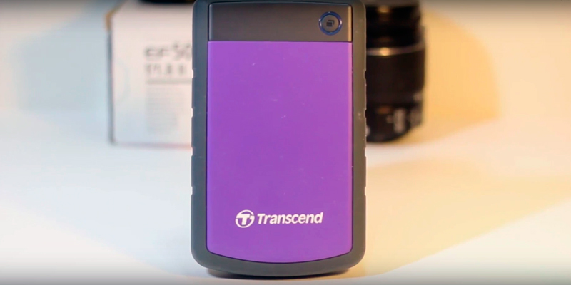 Transcend H3P 2 TB External Hard Disk Drive in the use