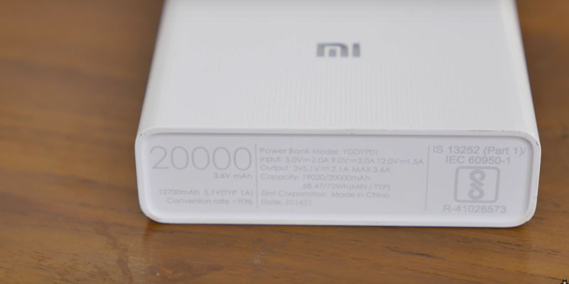 Review of Xiaomi Mi Power Bank