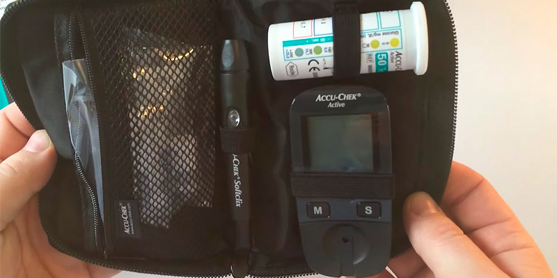 Review of Accu-Chek Active Glucose Monitor with 10 Strips Glucometer