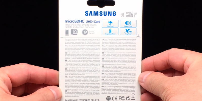 Samsung Evo Plus 32GB MicroSDHC in the use